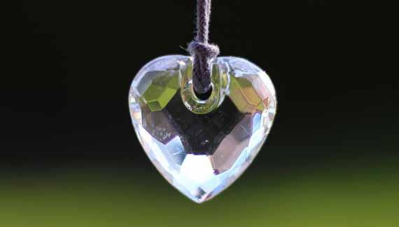 Herz aus Kristall