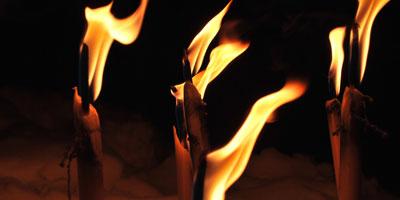 Feuerfackeln